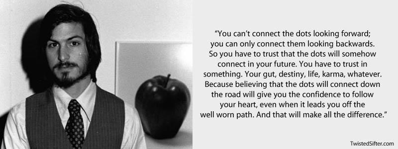 [Image] It Was The Anniversary Of Steve Job's Death A Couple Of Days Back And I Wanted To Share What I Think Was His Most Motivating Quote…..
