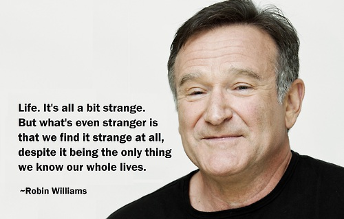 [Image] The Strangeness Of Life