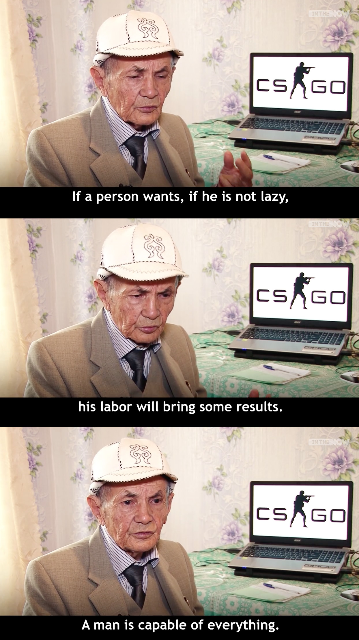 71 Year old CSGO Player [Image]