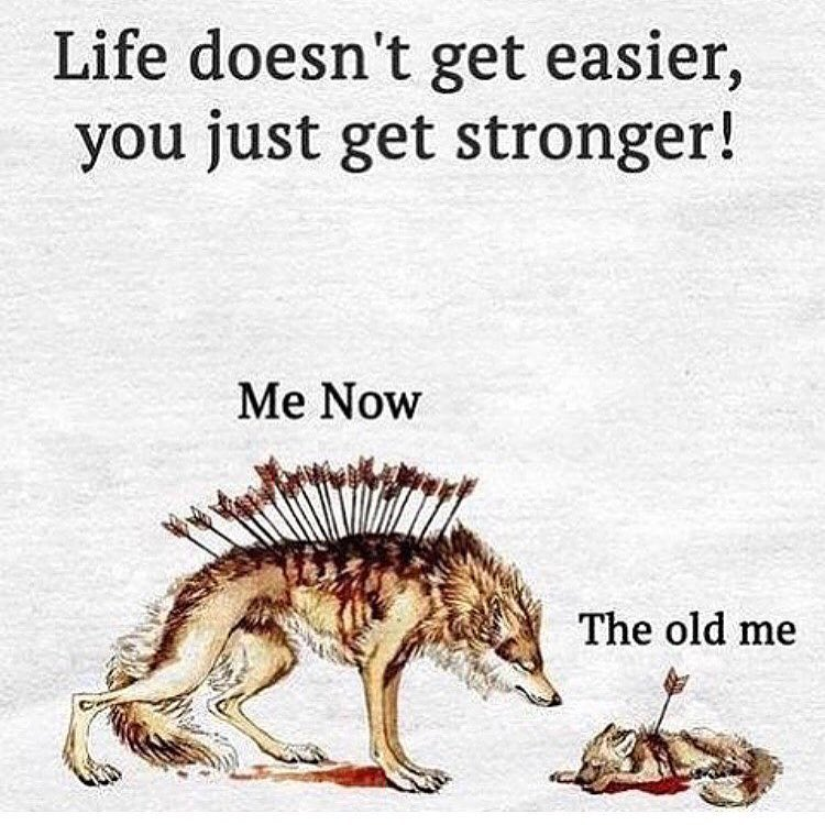 [Image] Each Day You Get Stronger