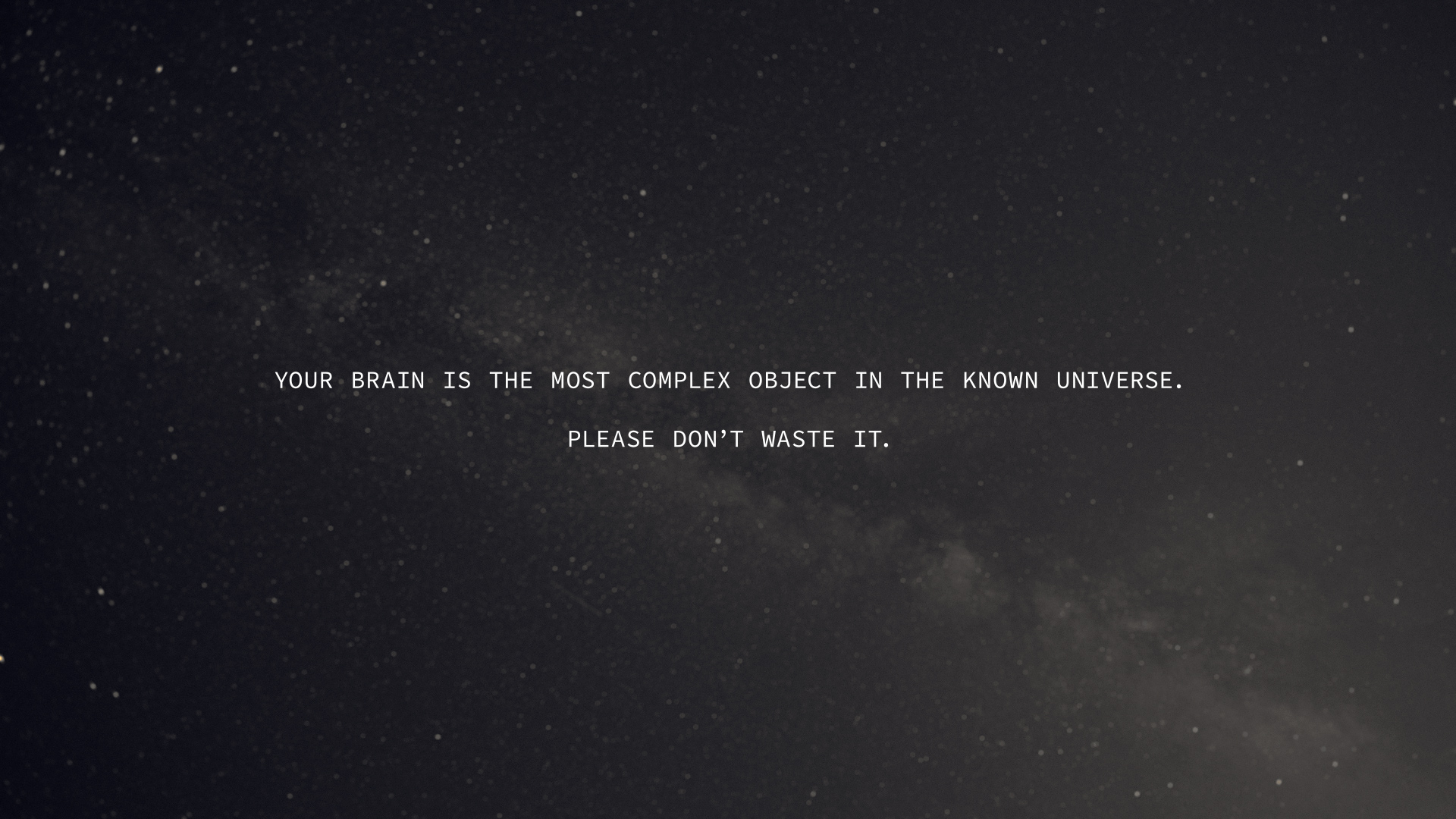 [Image] [OC] Your brain is the most complex object in the universe