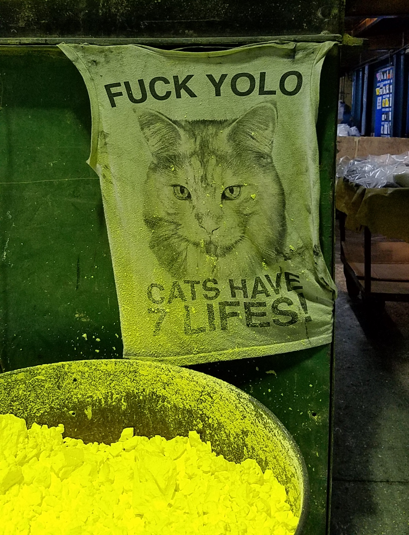 [Image] Sulfur Bin YOLO