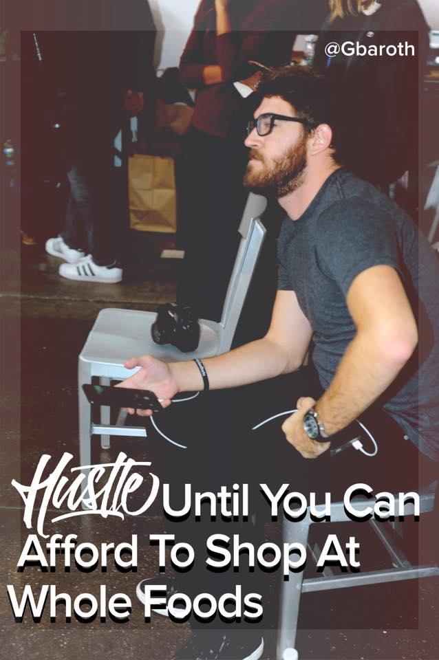 [Image] Hustle