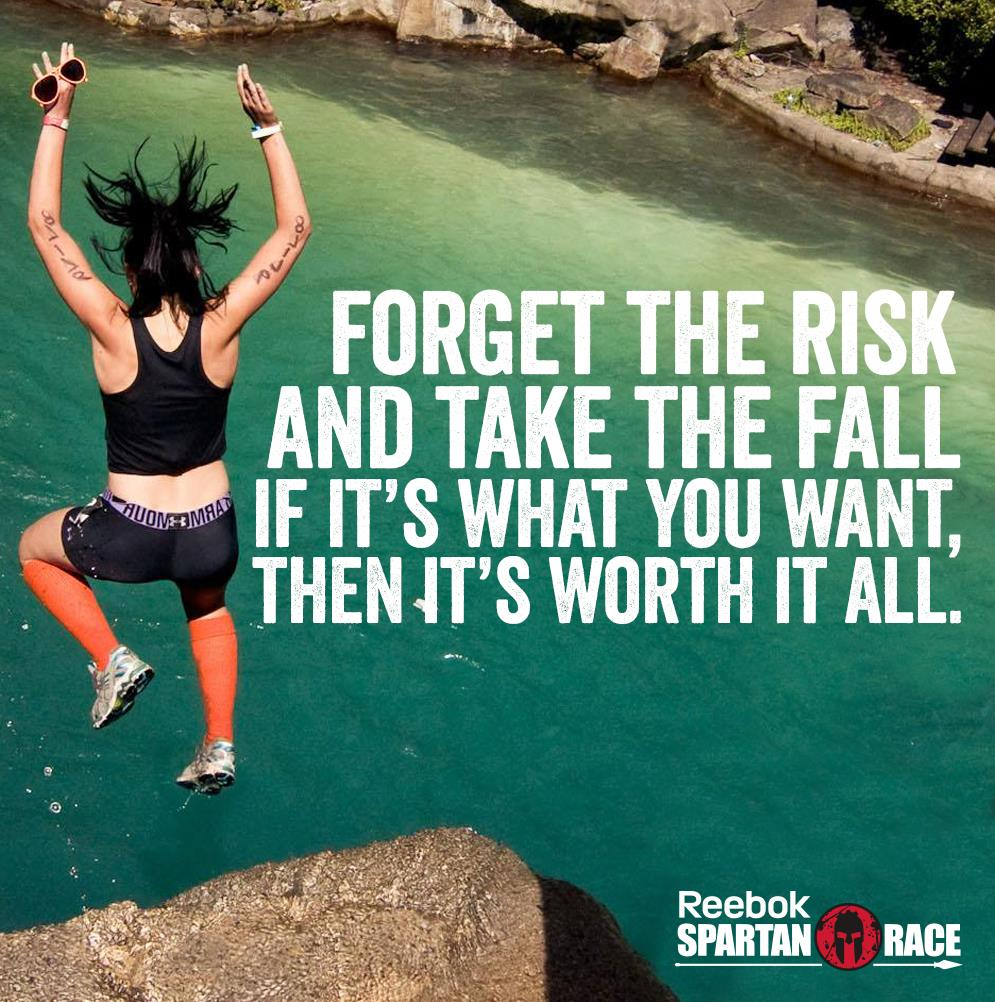 [Image] Forget the Risk and Take the Fall…