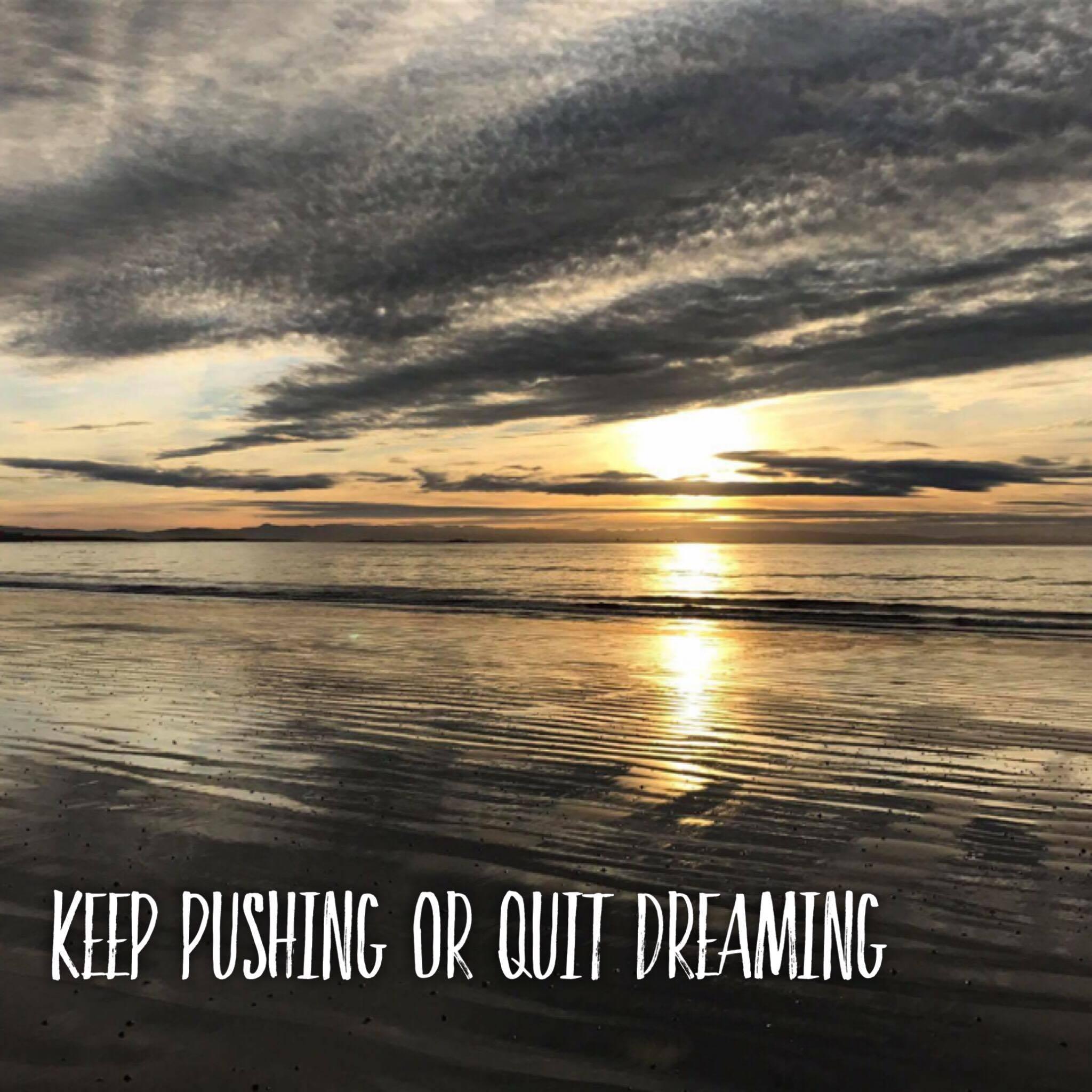 Keep Pushing or Quit Dreaming
