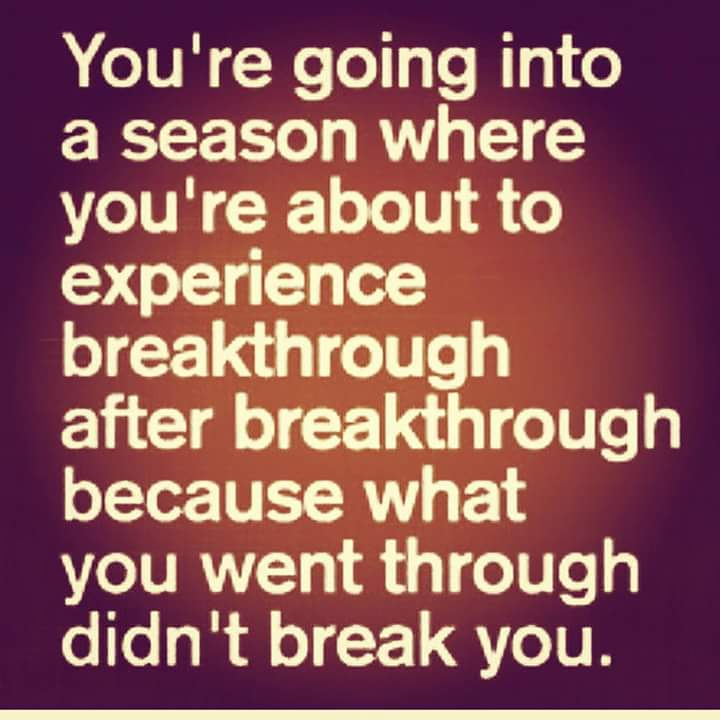 (Image) Motivation to breakthrough