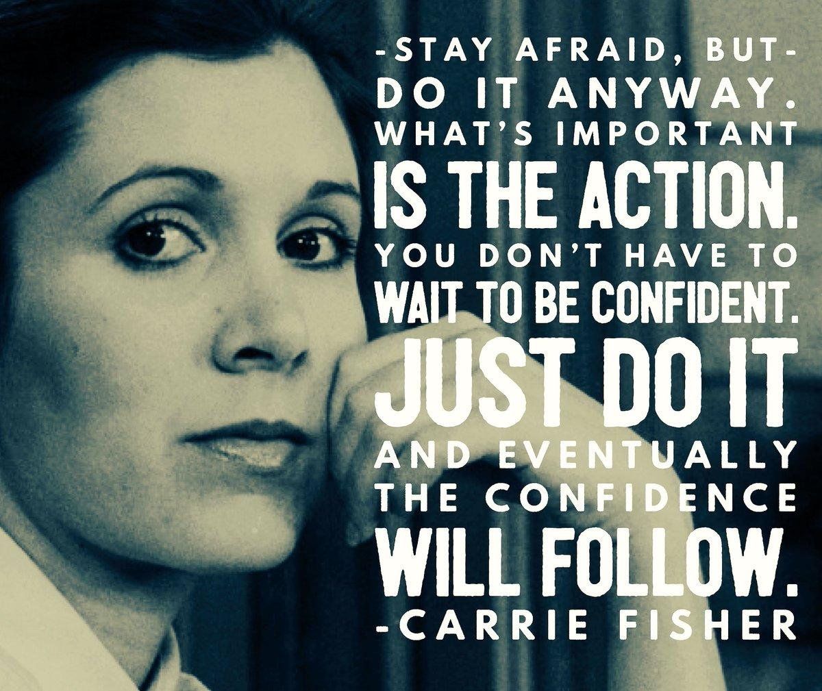 [image] Inspring advice from carrie fisher