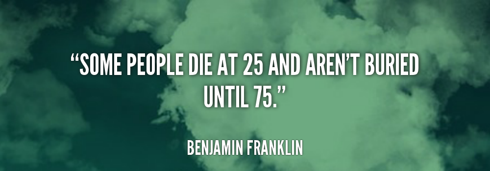 [Image]Some people die at 25…
