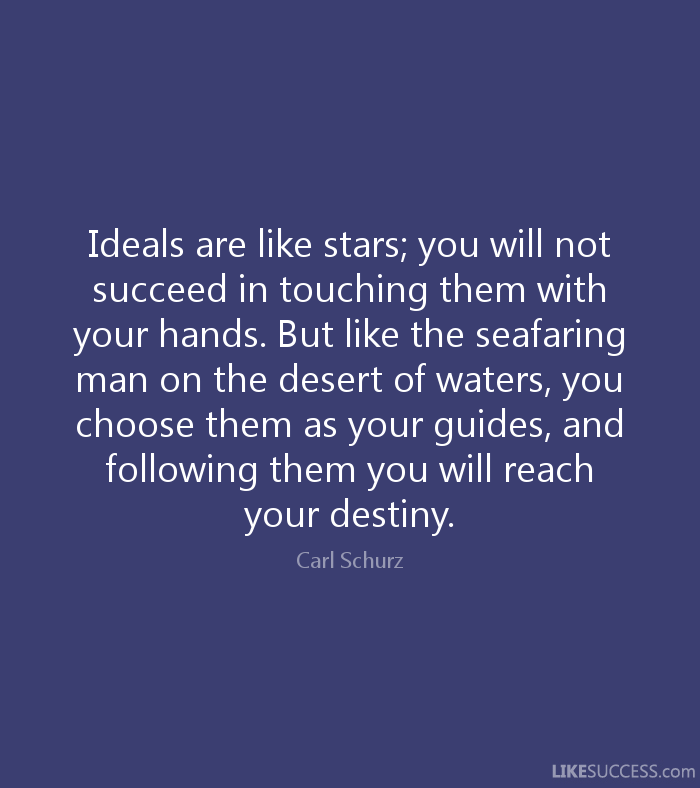 [Image] Never let anyone dissuade you from chasing your ideals