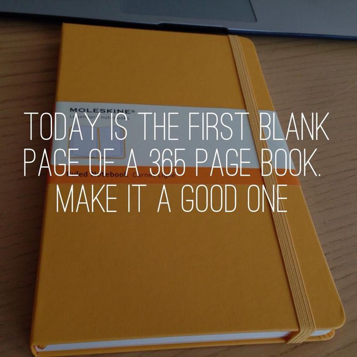 [Image] Yesterday you wrote page one.