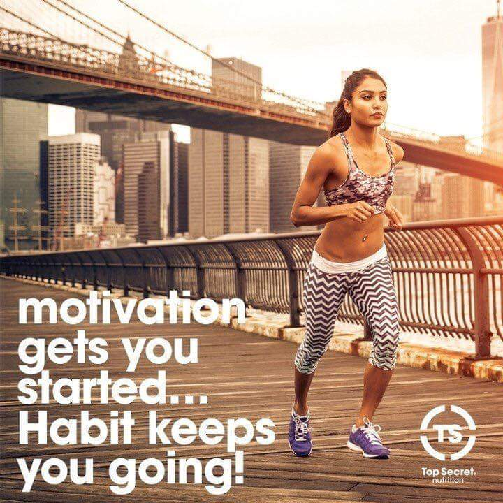 [Image] Motivation gets you started…