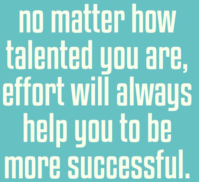 [Image]Efforts will always help..