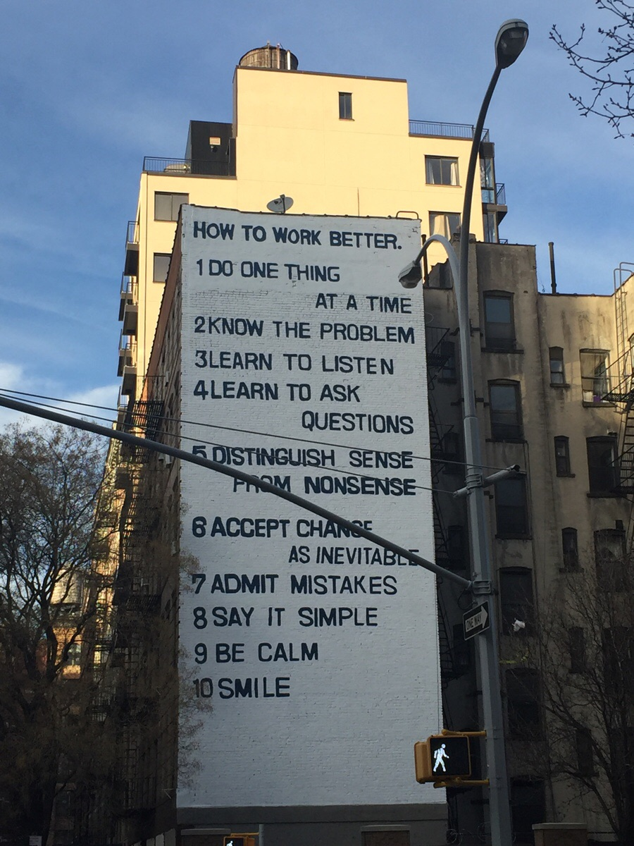 [Image] Full-Building Mural in Manhattan: How To Work Better