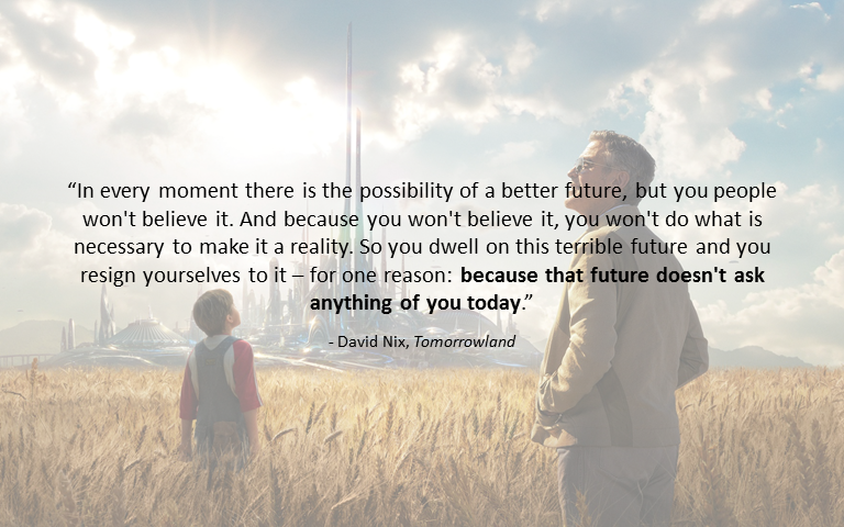 [Image] In every moment there is the possibility of a better future