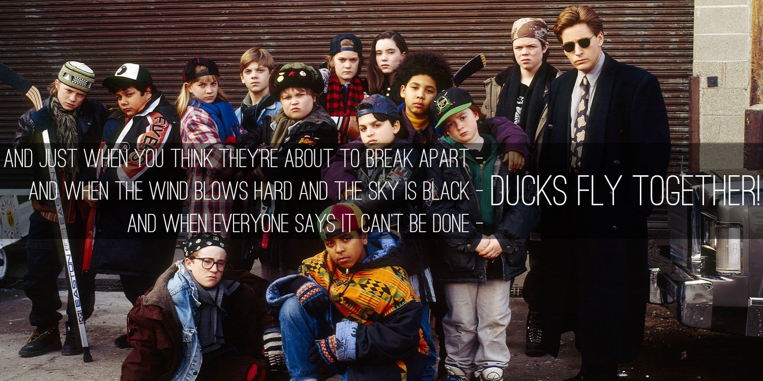 [Image] Ducks fly together. For those of you who need some teamwork motivation.