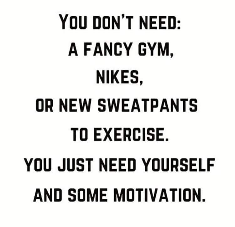 [Image] You just need You and Motivation…