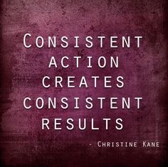 [Image] Consistency is the holy grail…