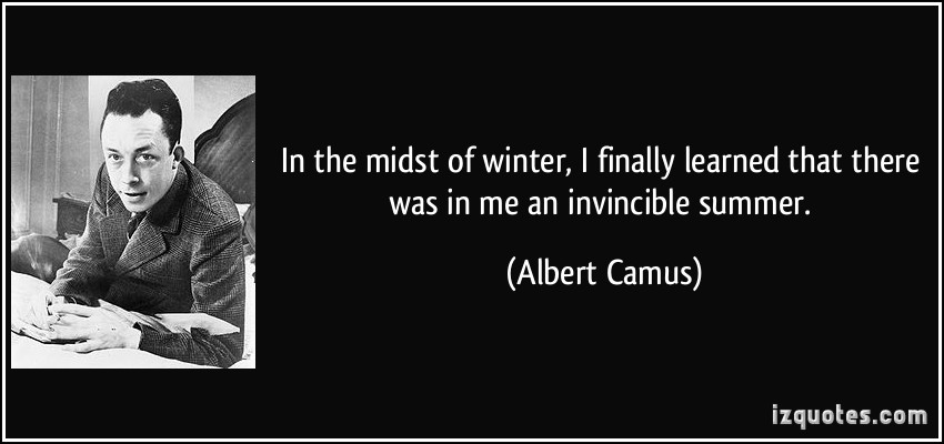 [image] winter is the time for learning