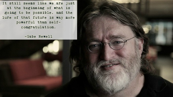 [Image] Gabe newell when Asked about his proudest achievement