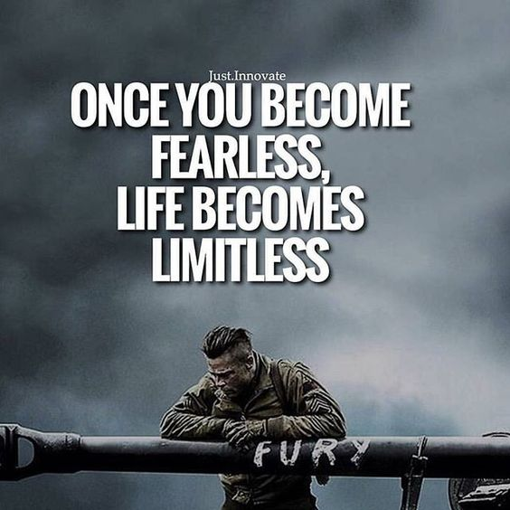 [Image] I am fearless