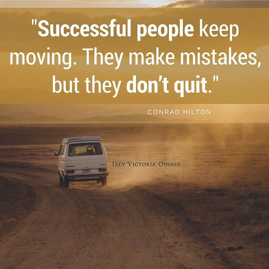 Successful People Don't Quit. [Image]