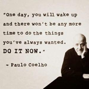 "[Image] ""One day you will wake up…"""