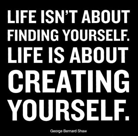 [Image] Create yourself with your own way..