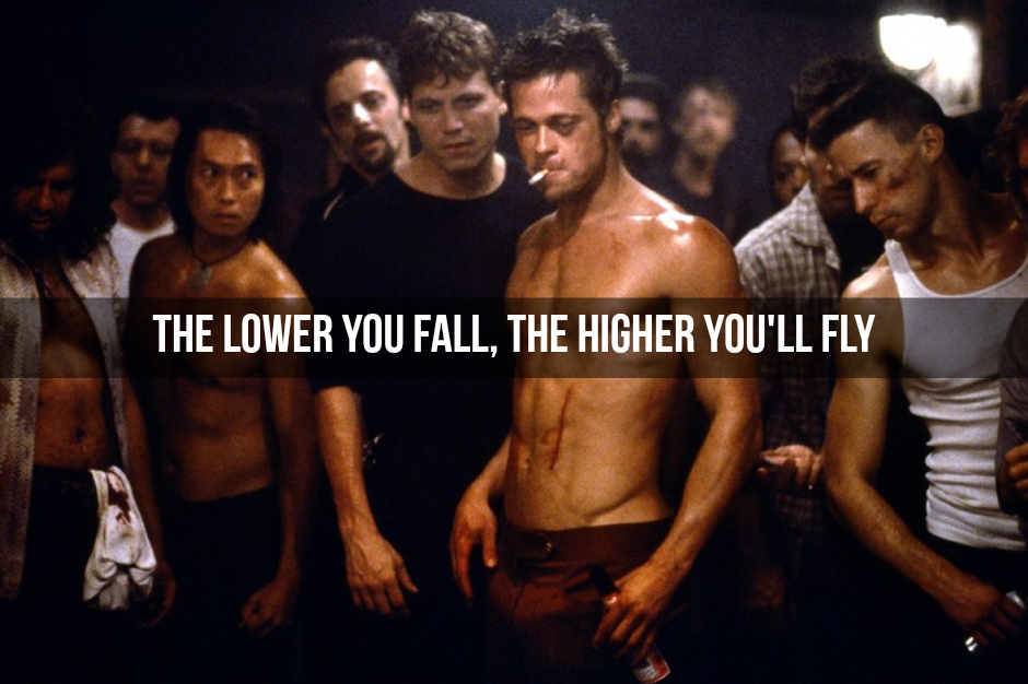 [Image] Fight Club motivating us who need that extra nudge