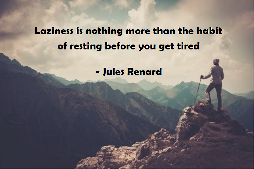 [Image] Laziness is nothing