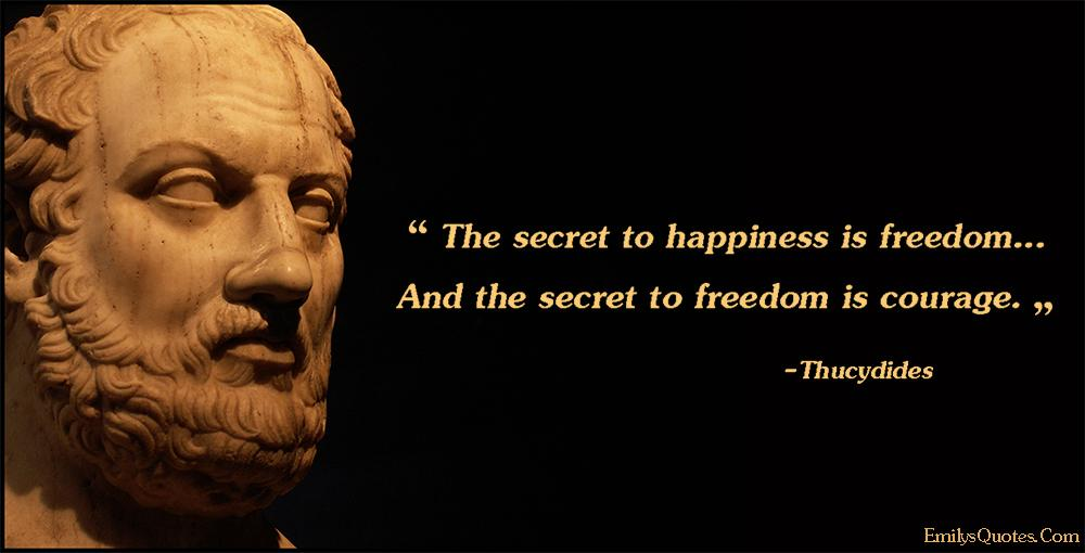 [Image] The secret to happiness is ….