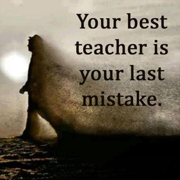 [Image] Your last Mistake