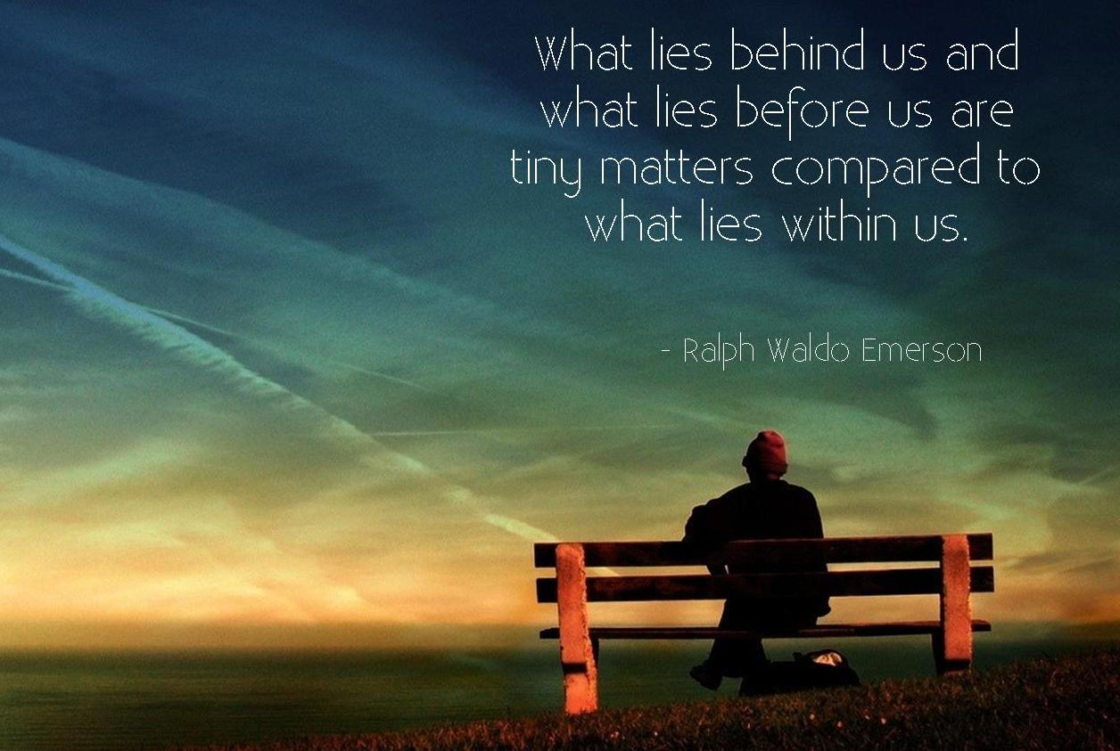 [Image] What Matters Most is what lies within us.