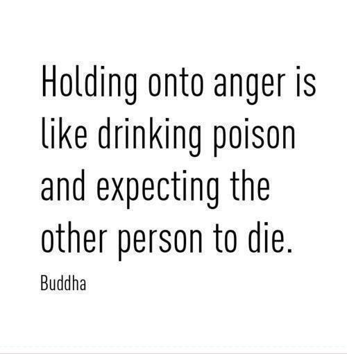 [Image] Don't hold onto anger