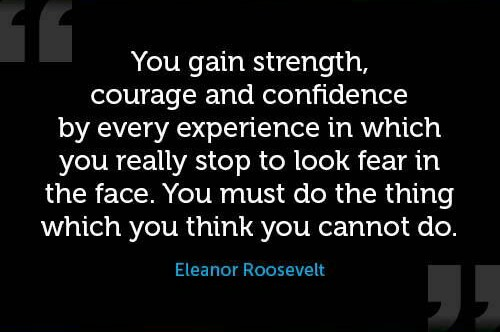 [Image] Quote by Eleanor Roosevelt