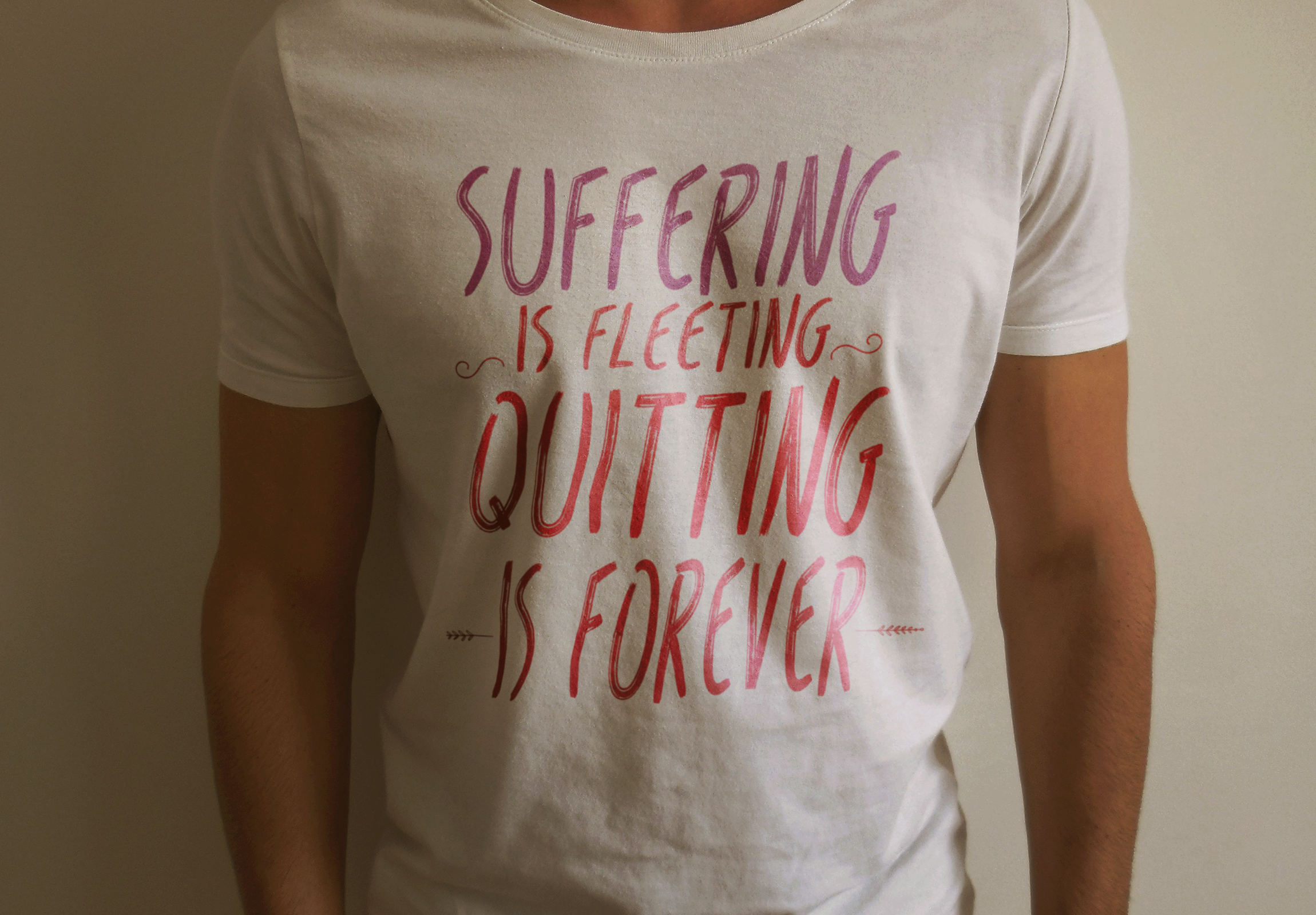 [Image] Suffering is fleeting, Quitting is forever