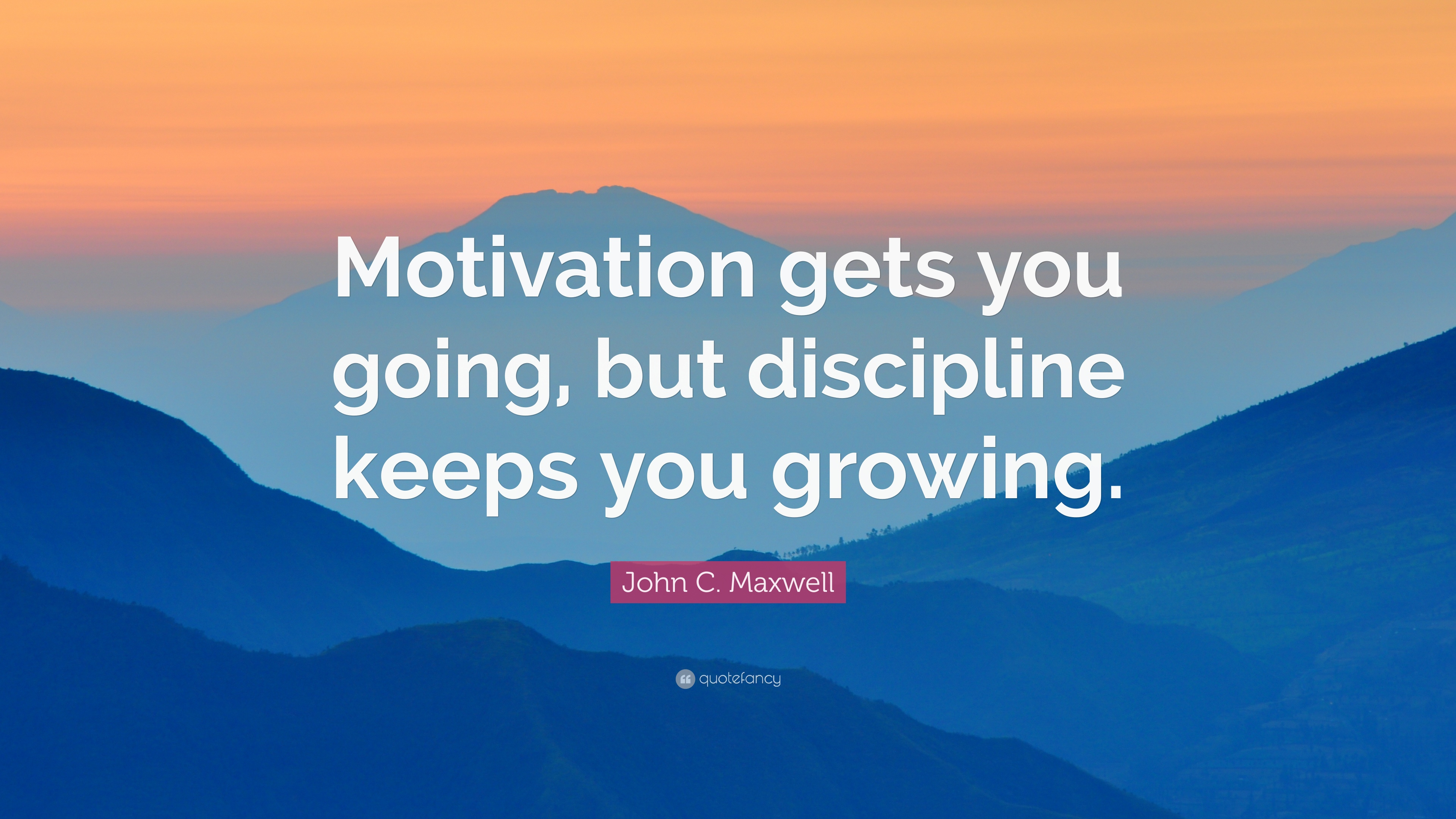 [Image] Motivation vs Discipline