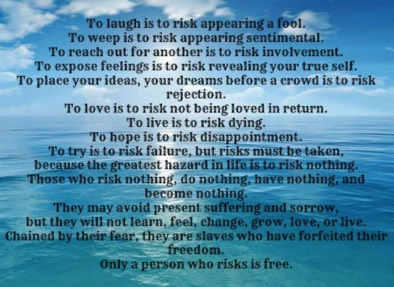 [Image] To Risk