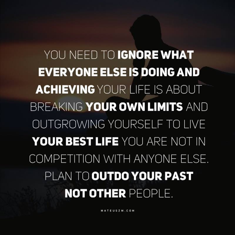 [Image] Plan to Outdo You