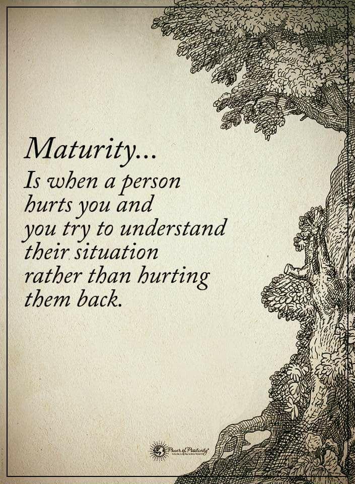 [Image] Maturity…