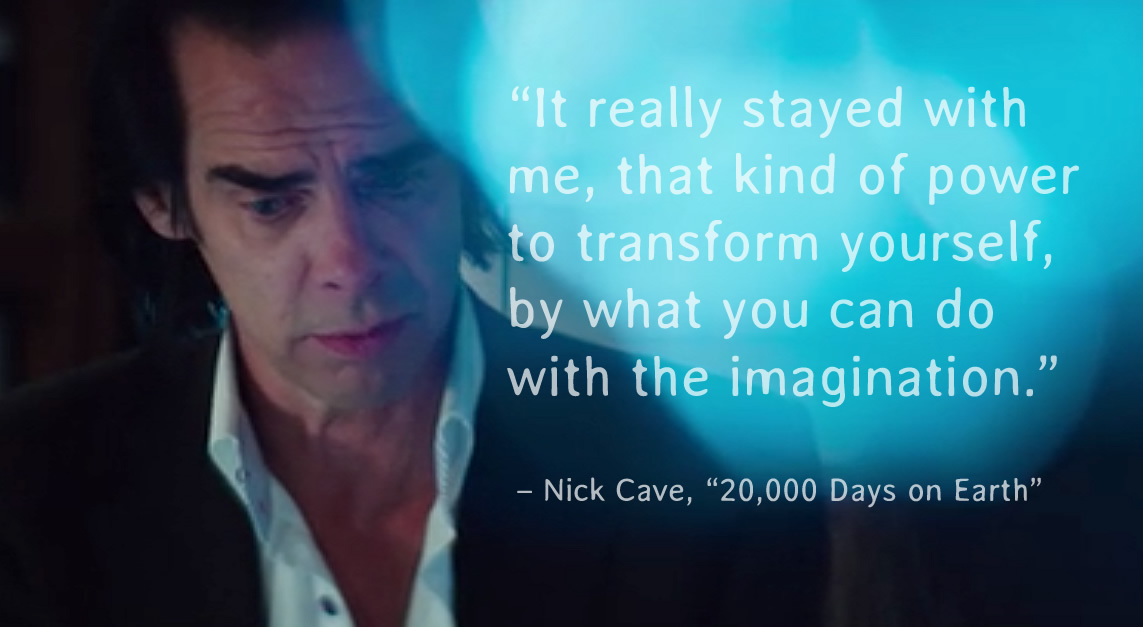 Nick Cave on the Power to transform yourself [Image]