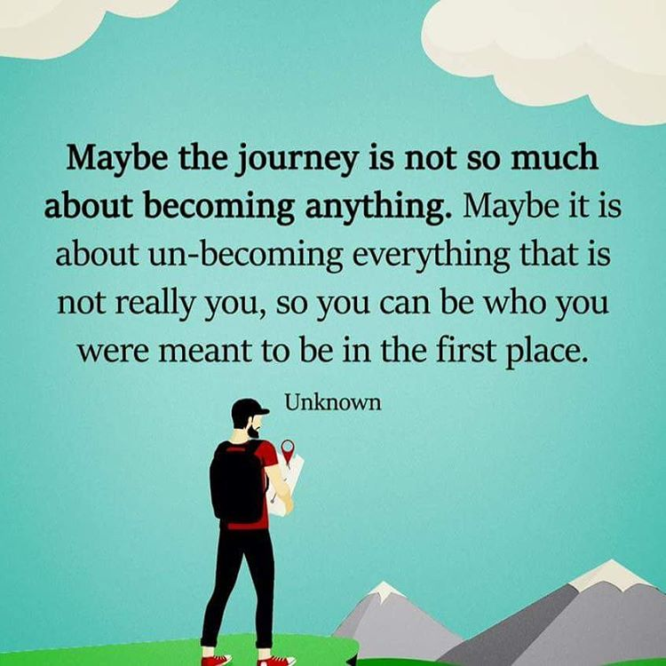 [Image] a journey of un-becoming