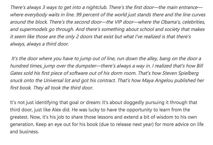 [Image] The Third Door