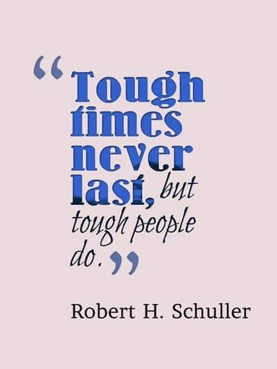 [Image] Tough times never last!