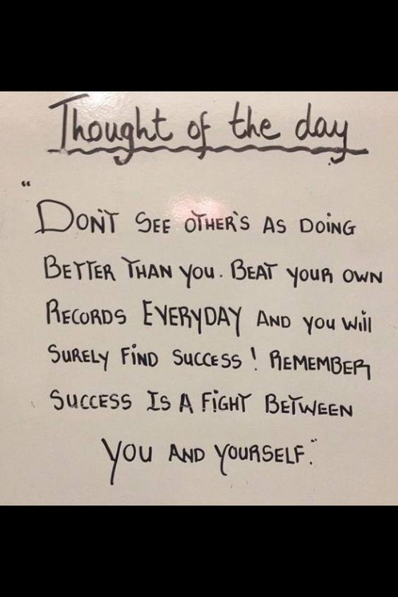 [Image] Success is a fight between you and yourself