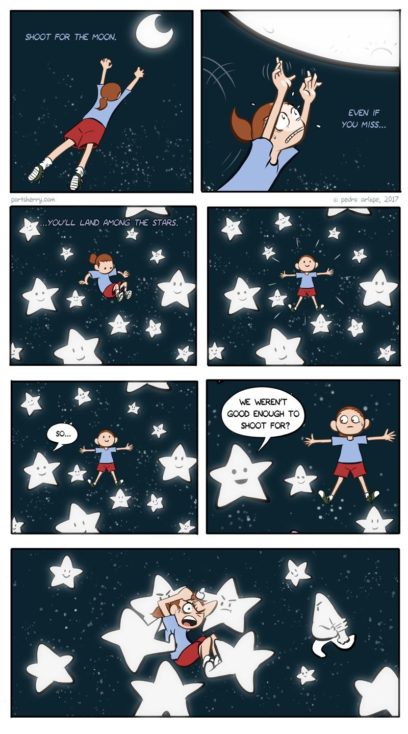 [Image] Shoot For The Stars