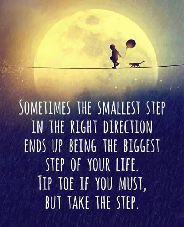 [Image] Smallest step ..
