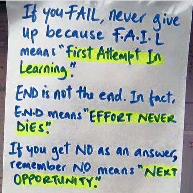 [Image] Fail, End, and No
