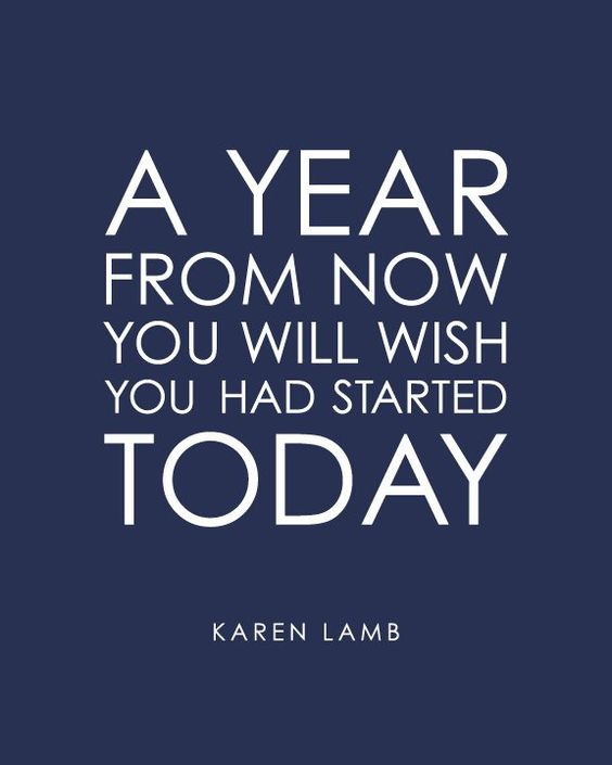 [Image] Start today