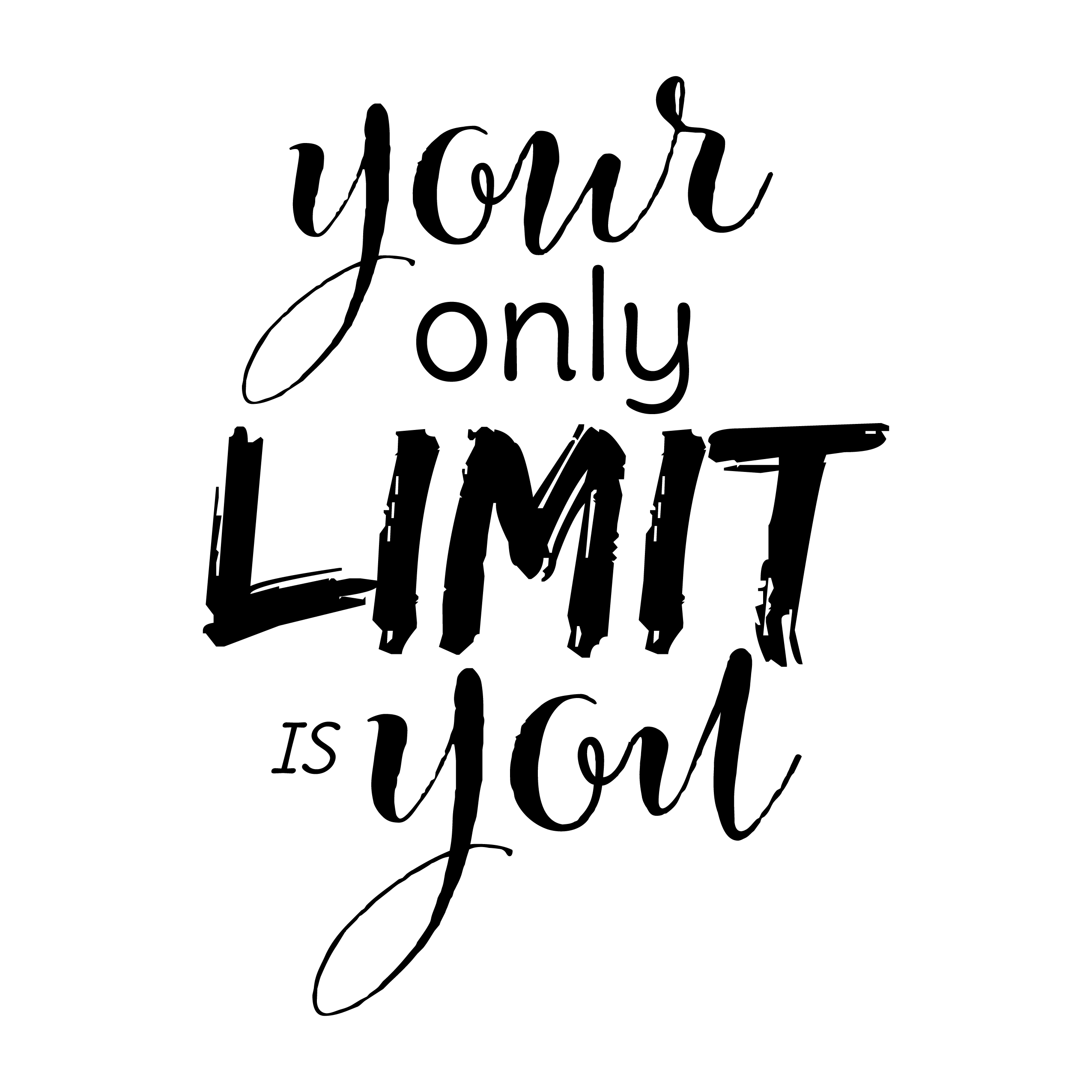 [Image] Your only limit