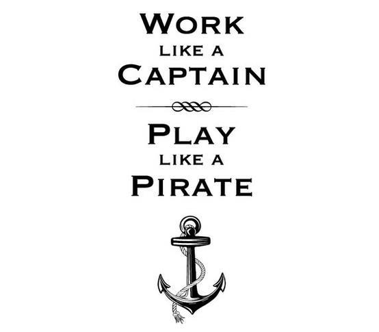 [Image] work like a captain